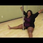 Loni Love Learns To Pole Dance